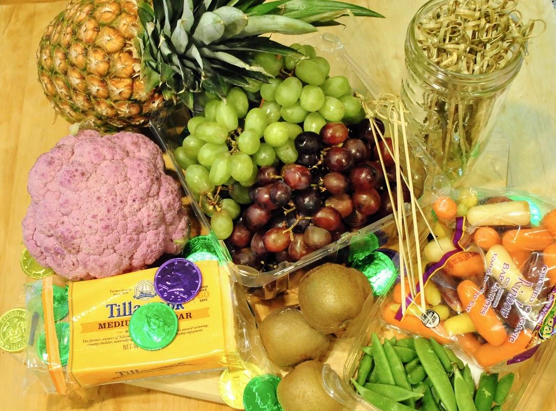 healthy mardi gras party food