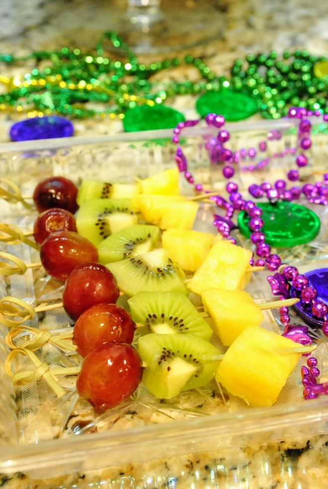 Healthy Mardi Gras party food