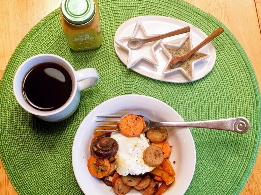 Breakfast hash high protein