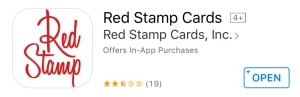 red stamp digital cards