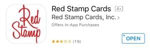 red stamp digital cards