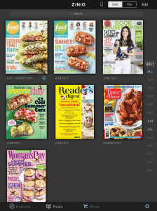 zinio app for magazines