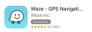 Waze app phone navigation