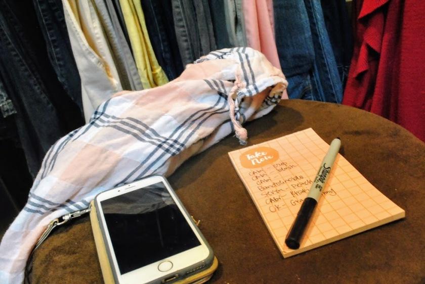 closet organize