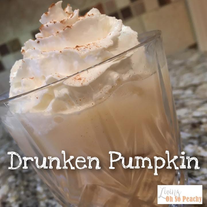 Drunken Pumpkin Pie Cocktail  ~ FourWays!